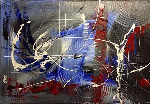 Acrylique sur toile / 0.49 x 0.70