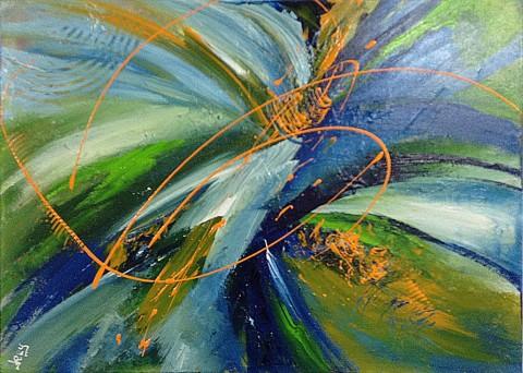 Acrylique sur toile / 0.50 x 0.70