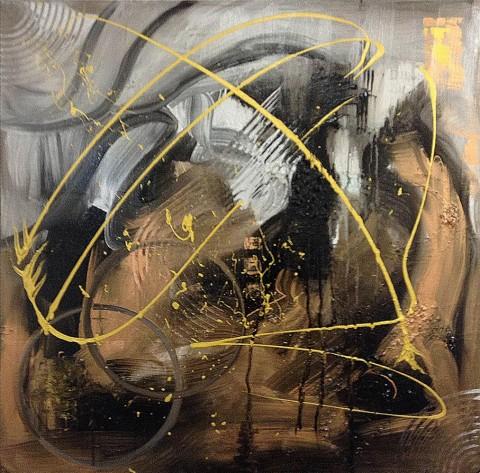 Acrylique sur toile / 0.70 x 0.70