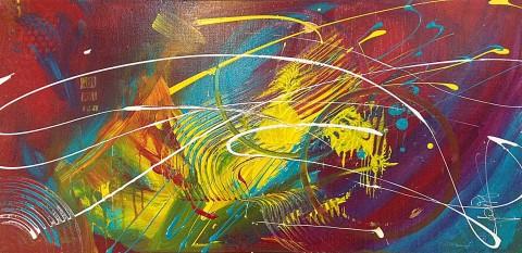 Acrylique sur toile / 0.80 x 0.40