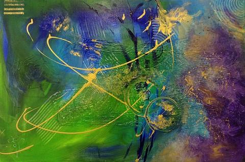 Acrylique sur toile / 0.65 x 1.00