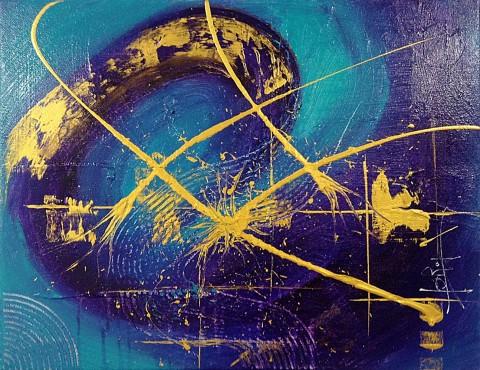 Acrylique sur toile / 0.50 x 0.40