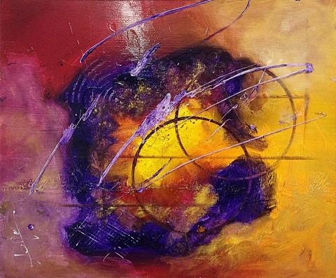 Acrylique sur toile / 0.54 x 0.65