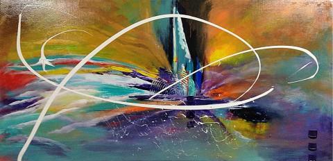 Acrylique sur toile / 1.00 x 0.50